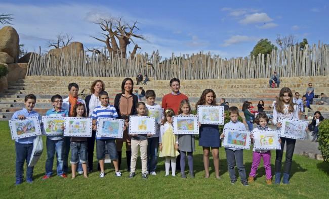 Entrega premios 4º concurso dibujo infantil de Levante-emvcom y Bioparc