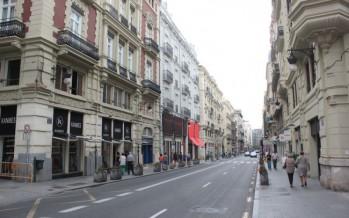 El reasfaltado de calles que comienzan el lunes en Valencia se realizarán por el día y en laborables