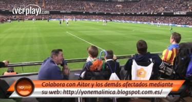 El Valencia CF se vuelca con la causa de Aitor contra la miopatía nemalínica