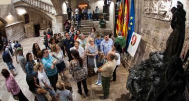 El Palau de la Generalitat registra más de 18.000 visitas durante el fin de semana
