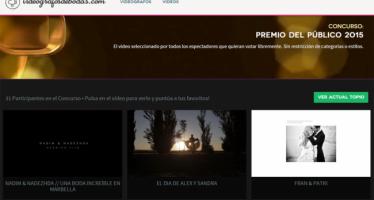 Una empresa valenciana recibe la doble nominación a Mejor Vídeo de Bodas 2015