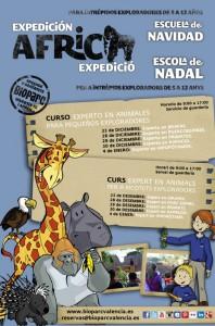 BIOPARC Valencia - Expedición África Navidad 2015 web