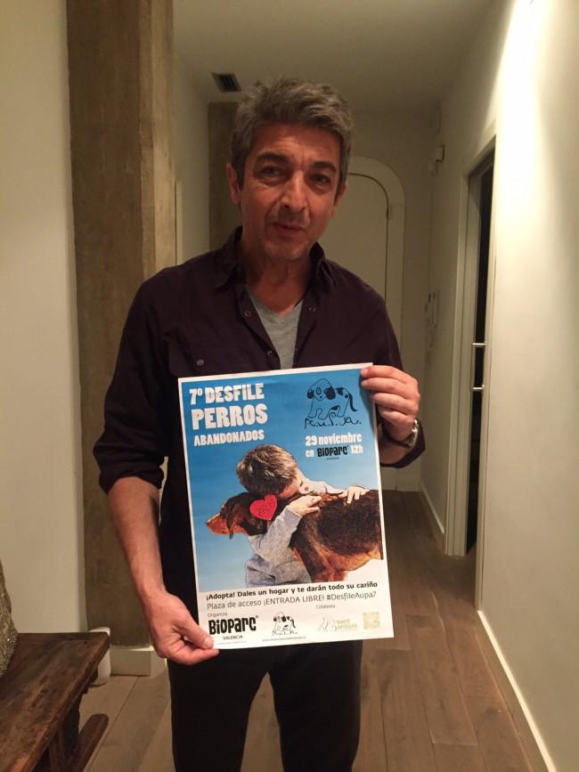 Darín apoya DESFILE  AUPA BIOPARC