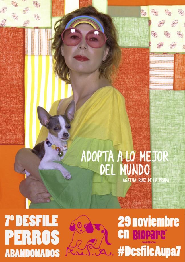 cartel AGATHA 7º desfile solidario de perros abandonados web