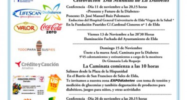 Alicante acoge la II Caminata-carrera por el Día Mundial de la Diabetes