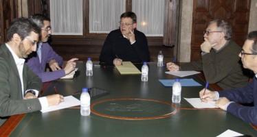 Puig se reúne con el director general de Seguridad y su gabinete para realizar balance de la jornada electoral