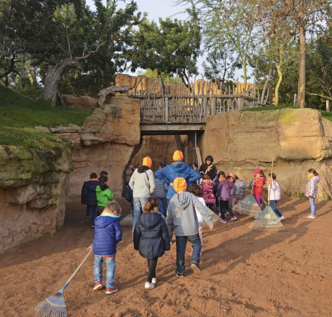 BIOPARC Valencia - Expedición África Navidad 2015 - Expertos en jirafas (3)