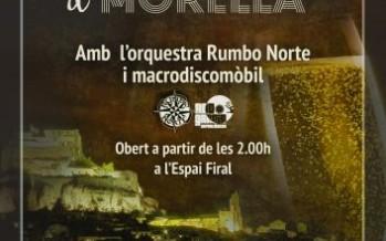 Morella organiza una fiesta para celebrar la Nochevieja