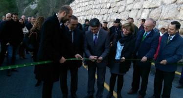 La Diputación invierte 4 millones para garantizar la seguridad de la carretera de Cortes de Pallás