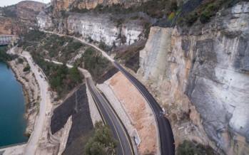 La carretera de Cortes de Pallás abre en pruebas