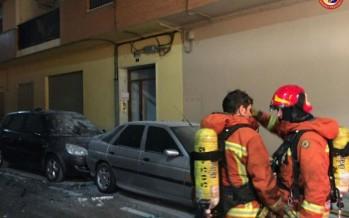 Una vivienda se incendia en Almussafes