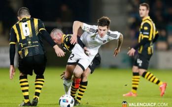 Más coraje que juego en la remontada del Valencia CF en Barakaldo (1-3)