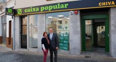 Caixa Popular abre nueva oficina en Chiva
