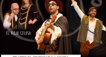 Teatro gratuito en El Sindicat de La Nucía con Dos entremeses y medio