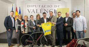 València Turisme promociona la oferta turística y deportiva en la Volta Ciclista a la Comunitat Valenciana