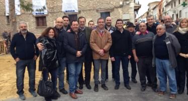 El presidente de la Diputación visita Benisuera con motivo de Sant Antoni