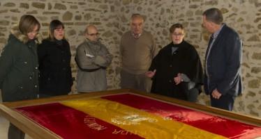 La Diputación de Castellón restaura la bandera de la banda de música de Benassal