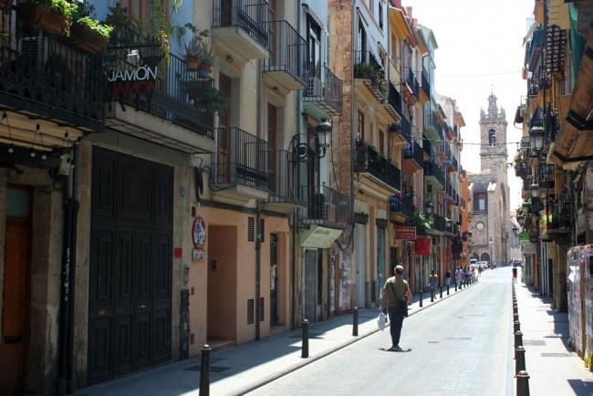 Calle Bosseria. Valencia. Foto: Javier Furió