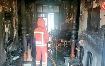 Muere un hombre de 40 años en el incendio de su vivienda en Montesa