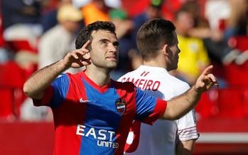El Levante UD no puede ante el Sevilla de Emery (3-1)