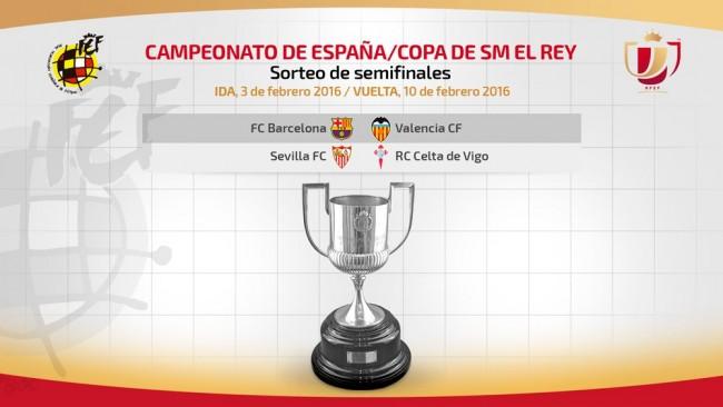 Valencia CF - Barça, semifinal de Copa