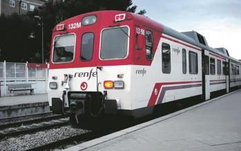 María José Salvador pide a Fomento que agilice la conexión de Cercanías Sagunto-Valencia y la creación de la línea Castelló-Vinaròs
