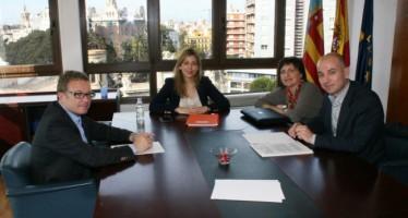 Briones trabaja con el Ayuntamiento de Valencia en el Pacto Territorial por el Empleo