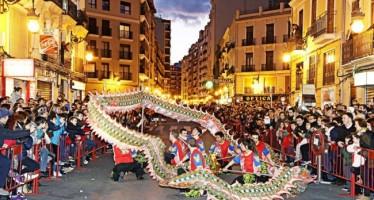 Valencia se suma a la celebración del Año Nuevo Chino como expresión de la diversidad cultural de la ciudad