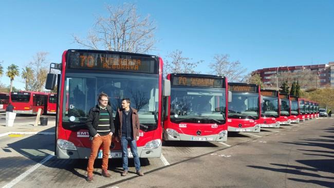 0208 Presentación autobuses EMT