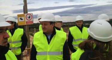 Sarrià visitó las instalaciones de agua en alta que abastecen a más de un millón de valencianos