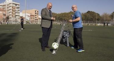 Valencia acoge las pruebas FIFA y World Rugby de campos de fútbol de césped artificial
