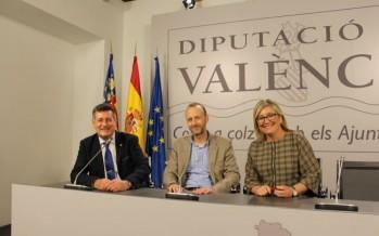 Aguar y Peris reciben en la Diputación a Alexis Marí, nuevo síndic de Les Corts de Ciudadanos