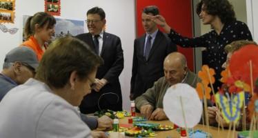 Puig promete trabajar para aumentar las plazas en residencias y centros de día para mayores