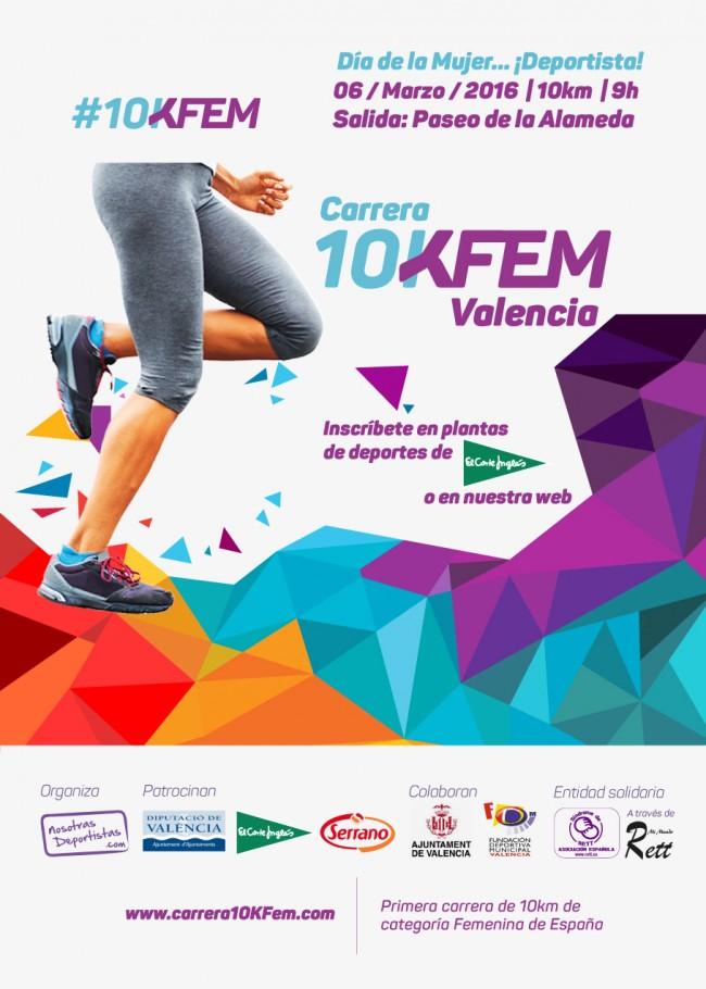 cartel 10KFem 2016