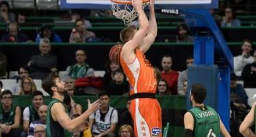 Valencia Basket gana a domicilio al Joventut camino a la Copa (66-73)