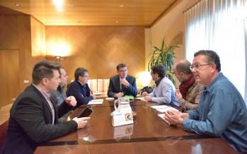 El Presidente de les Corts recibió al Comité de Trabajadores de RTVV