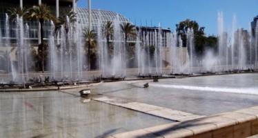 Se rehabilitan la Fuente del Palau de la Música y las del Agricultor y el Marqués de Campo en la Gran Vía