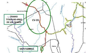 Obras Públicas mejorará la seguridad vial en la CV-35 entre Titaguas y Aras