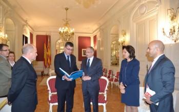 L'ambaixador d'Israel visita les Corts Valencianes