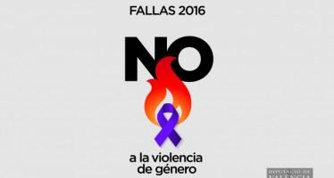 Rodríguez recibe a las Fallas de la provincia adheridas a la campaña contra la violencia de género