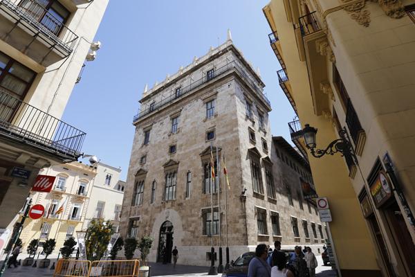 Palau de la Generalitat. Foto: Manuel Molines