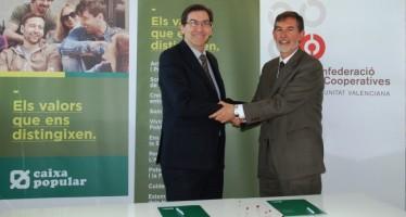 La Confederació de Cooperatives y Caixa Popular firman un acuerdo para fomentar el cooperativismo en la Comunitat