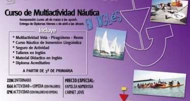 Deporte organiza la Nautical Easter Week en la Escola de la Mar de Burriana