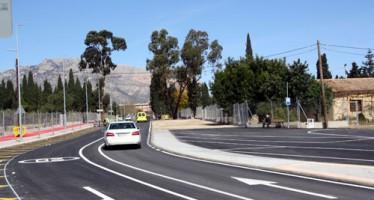 Los nuevos accesos al Palau d'Esports de Benidorm se abren al tráfico de vehículos y peatones