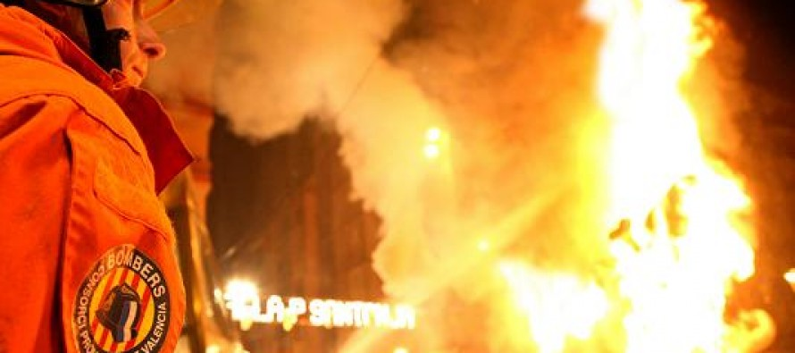 Els bombers ja preparen la campanya de prevenció de Falles 2018