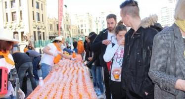 València Turisme celebra la Gran Naranjada Fallera
