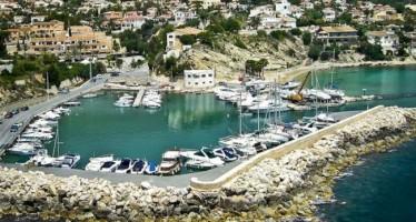 Urgencia en las obras de reparación en el Puerto Blanco de Calpe