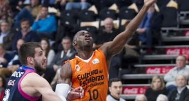 Valencia Basket pierde en casa ante un sorprendente Estudiantes (62-68)