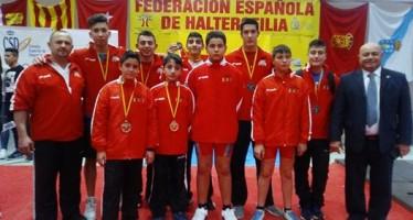 El Valencia Club de Halterofilia se proclama subcampeón de España Sub-18