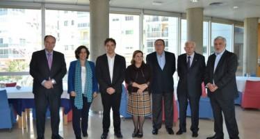 Colomer se reúne con el Consejo de Cámaras de la Comunitat Valenciana
